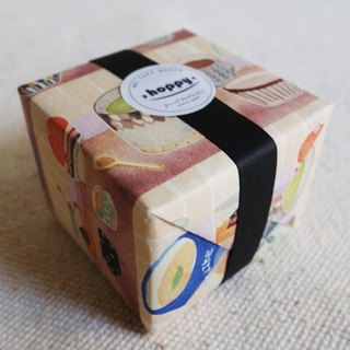 [Hoppy] Mini Box-Cup1 pink yellow paper tape / GTIN: 4713077970850