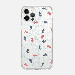 JAPANESE PAINTING【GOLDFISH】ONOR CRYSTALS PHONE CASE