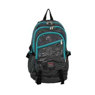 Functional wear-resistant backpack gray green BODYSAC -b1127
