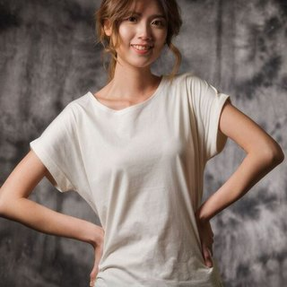 ~ folding sleeve width T ~ 100% cotton simple fashion comfortable and breathable