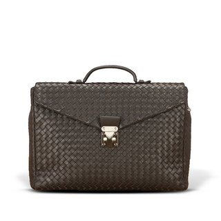 STORYLEATHER Spot Style 6305 woven briefcase