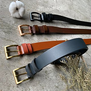 Belt belts are carefully selected for men and women - 3 cm wide