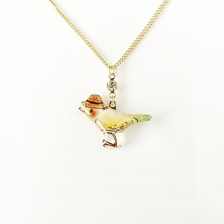 StrawHat-bird NECKLACE