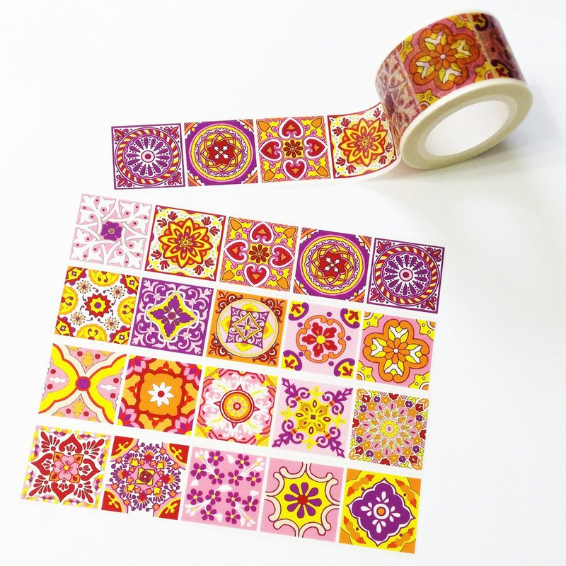 Sample Washi Tape Madrid Tiles