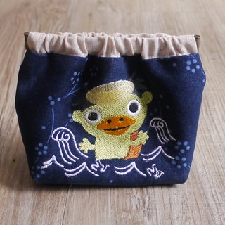 Kuroshima Mystery Creature Embroidery Shrapnel Gold Storage Bag Wallet Embroidered English Name Remarks