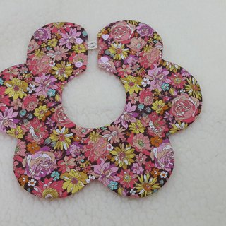 Moonlight Garden Flower pocket / baby bib / bibs