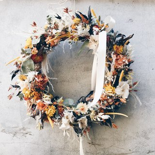 Flower Wreath! [Dream Goddess - Demeter] Dry Wreath Wreath Arrangement Christmas