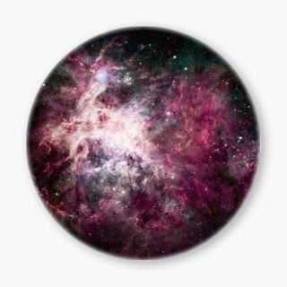 Snupped Ceramic Coaster - The Galaxy - The Cosmic