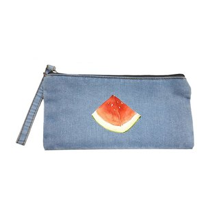 Fresh summer summer watermelon tannins cloth bag bag bag