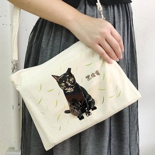 [Charity goods] wave cat's life - shoulder bag handbag bag dual-use canvas bag bag (four choose one)