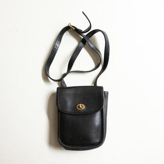 A ROOM MODEL - VINTAGE, BC-2546 COACH long black mini bag