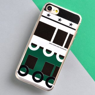 Hong Kong Retro Means of Transports iPhone X, iPhone 8/ 8 Plus Phone Case Ferry