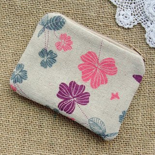 Zipper pouch / coin purse (padded) (ZS-272)