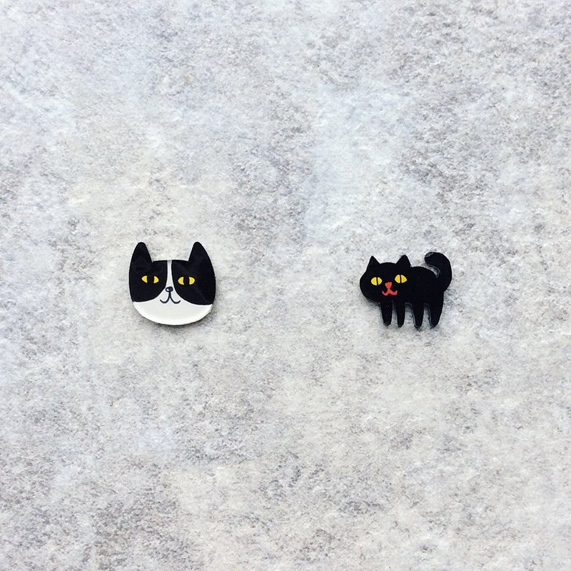 Pista Hill Hand-painted Earrings / Animals - Brunswick + Body