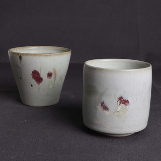 Patina pigeon gray color finger cup