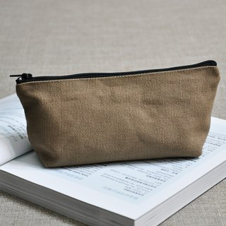 ENDURE / linen khaki pencil case