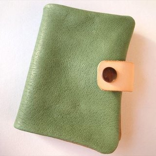 B7 [classic green] pig leather soft notebook cover [MTO] Leather 1615