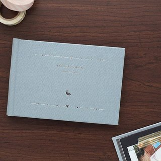 Livework beautiful day ticket basic photo album S sky blue gray, LWK37866