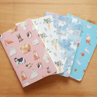 Large Notebook set : 240x160 mm (set of 4)