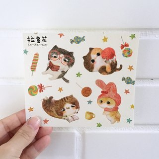 Stickers - Candy Cat
