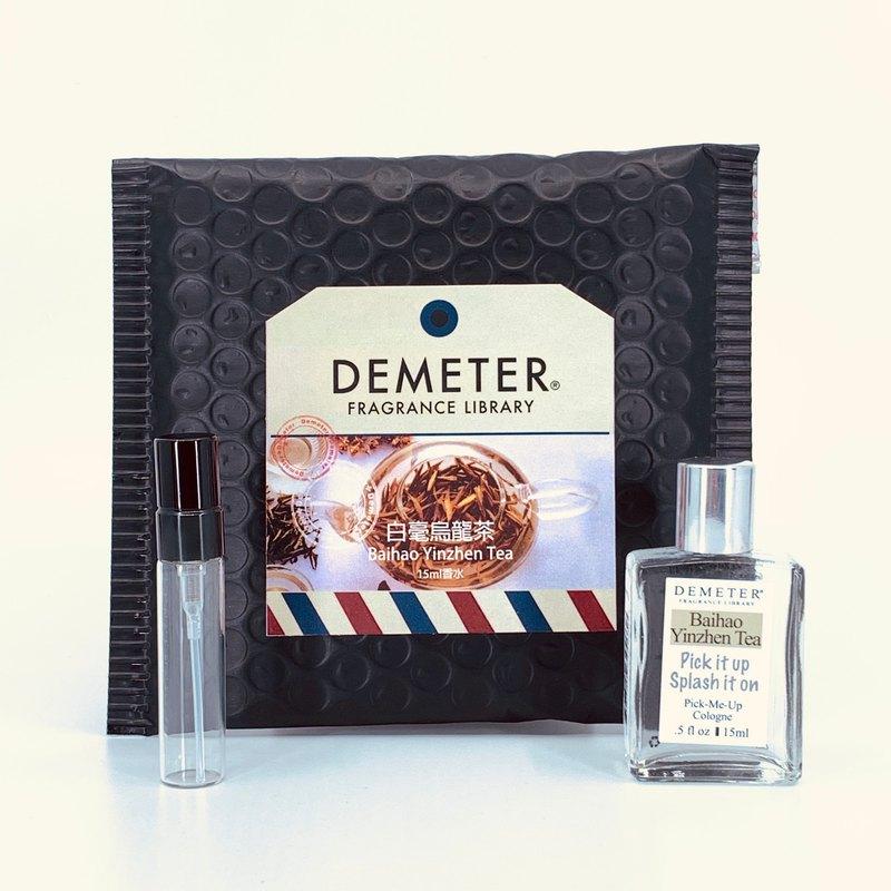 氣味圖書館 Demeter 【白毫銀針茶】  15ml 抹式+5ml瓶組合