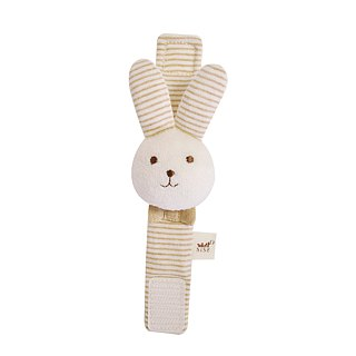 [SISSO Organic Cotton] Mimi Rabbit Wristband Bell