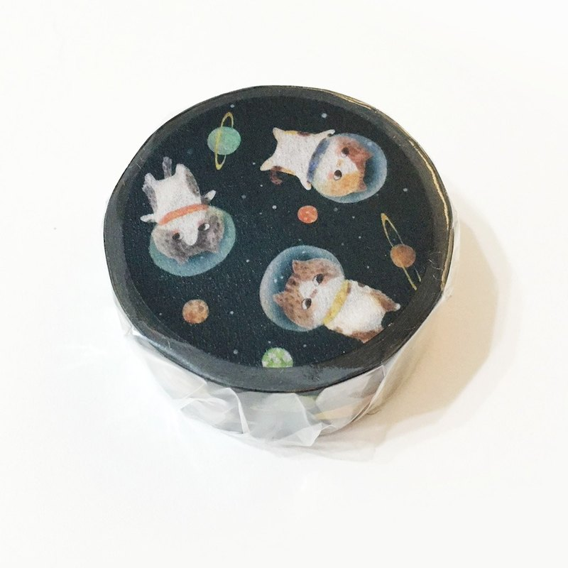 Cat Paper Tape 20mm - Space