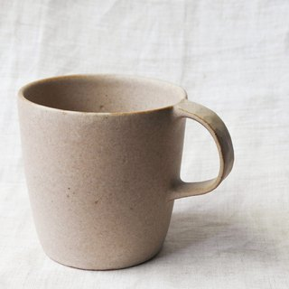 Brown spot glaze mug