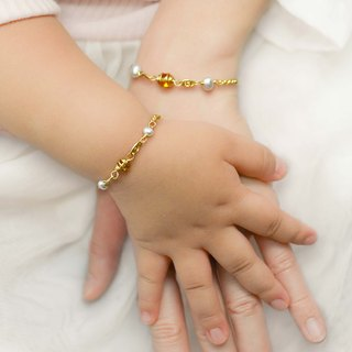 [Parental Bracelet] My Little Sun Parenting|Sister-Double Chain Group Commemorative Engraving Customized Gifts