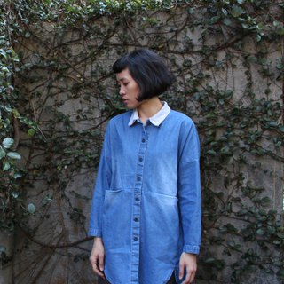 And - Eye Eyes - Lace with long short denim long denim shirt