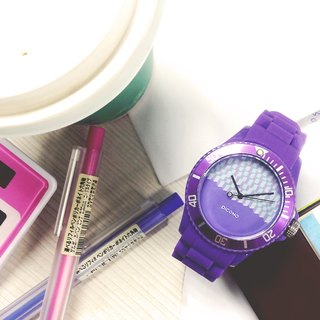 【PICONO】Block Playground Sport Watch - Purple / BA-BP-05