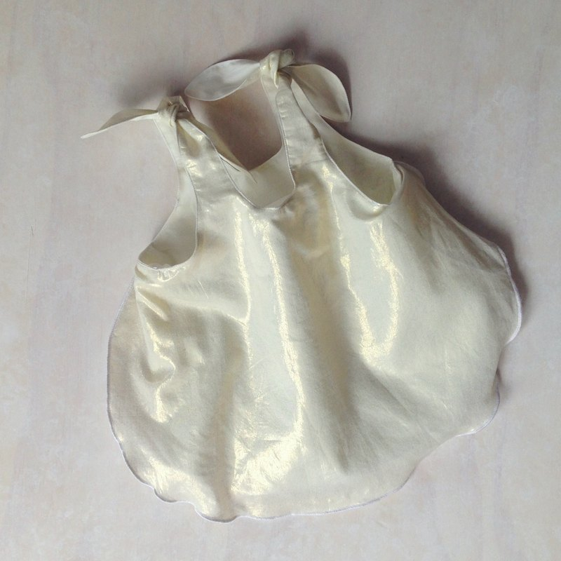 Baby Girls Golden Shimmer Singlet