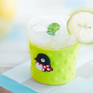 Bone / Bubble Glass Cup Bubble Glass - Penguin Maru