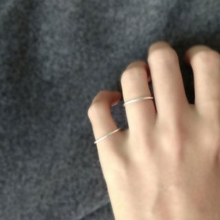 Lightup workshop - 1.2mm-forging ring, 999-Fine silver