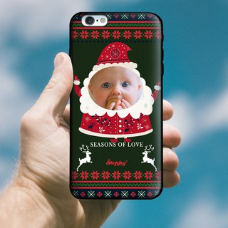 """Crazy Santa"" party custom phone case"