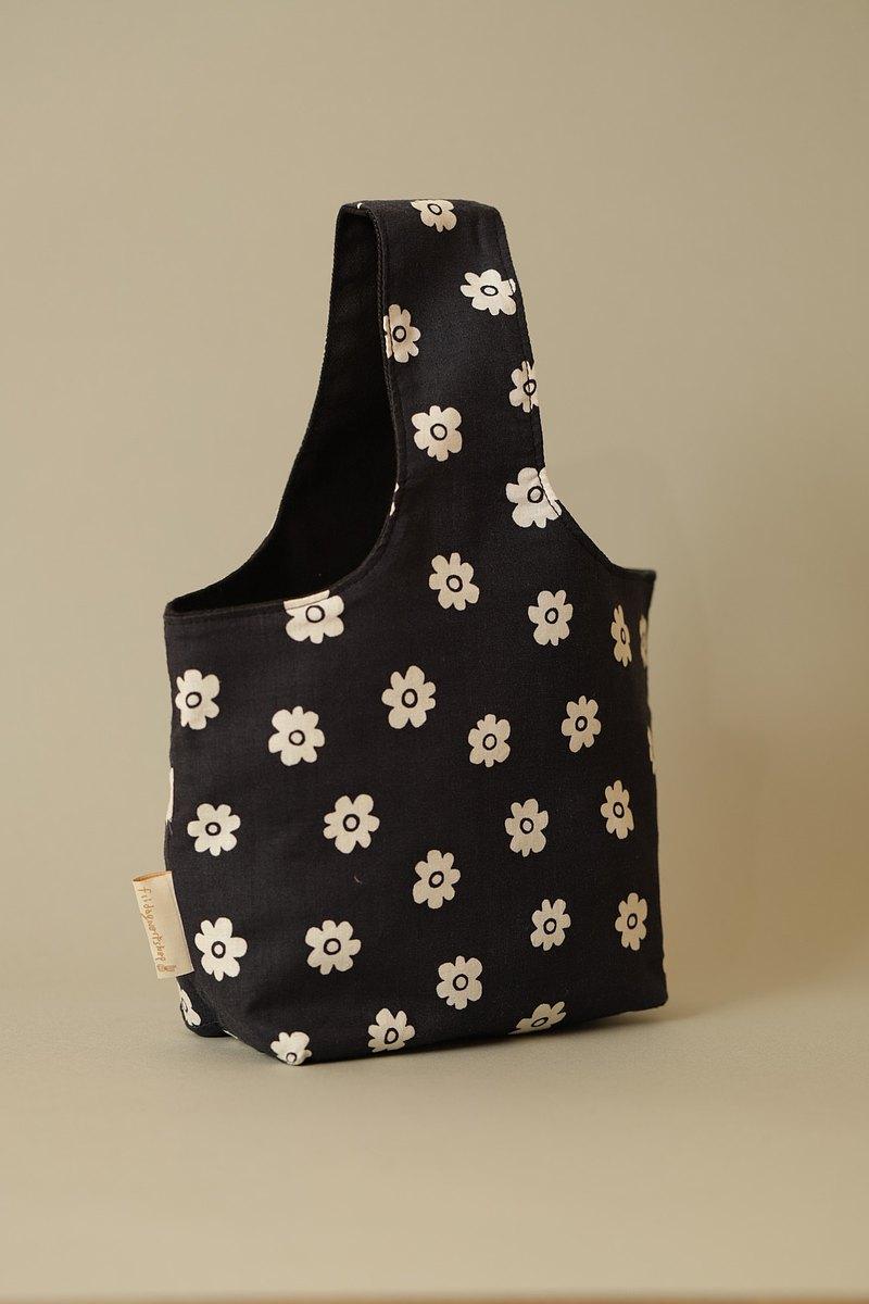 小花 手挽包 兩杯袋 托特包 手提包