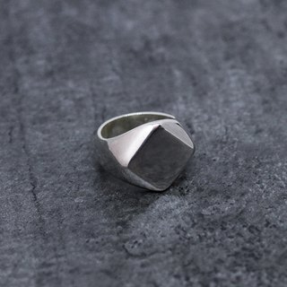 Silver Signet Ring 01 S