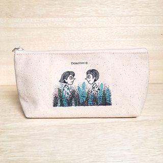 Become a self-conscious person, pencil case, cosmetic bag