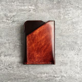 Men's Brown Leather Wallet / Minimal Leather Wallet / small leather wallet / Front Pocket Wallet / slim wallet