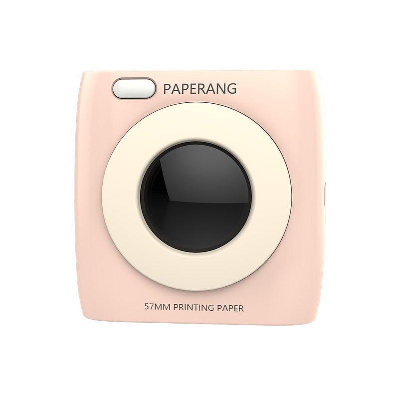 【畢業禮物】Paperang 二代P2 口袋列印小精靈-喵喵機-復古粉