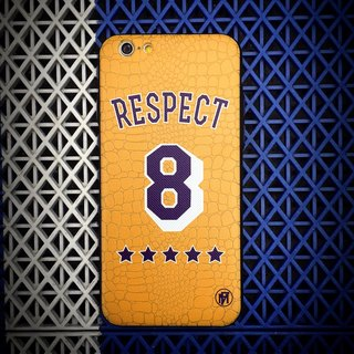 "Flame ""Respect 8"" Phone Case"