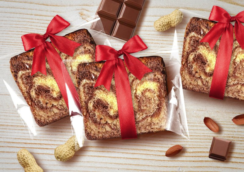 [Mr. Dode Handmade Brownie Monopoly] Ribbon - Peanut Chocolate Pound Cake