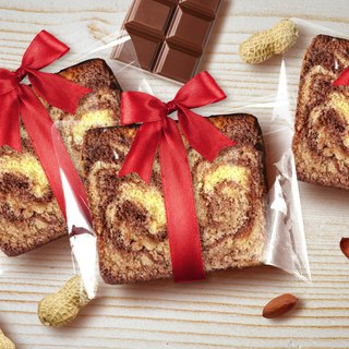 [Mr. Takamatsu handmade brownie monopoly] ribbon - peanut chocolate cake cake