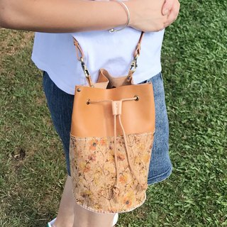 Custom Leather Bucket bag