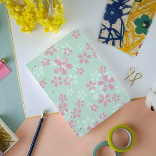 Morning Sakura-A5 manual notebook / PDA / diary / photo album / log / gift
