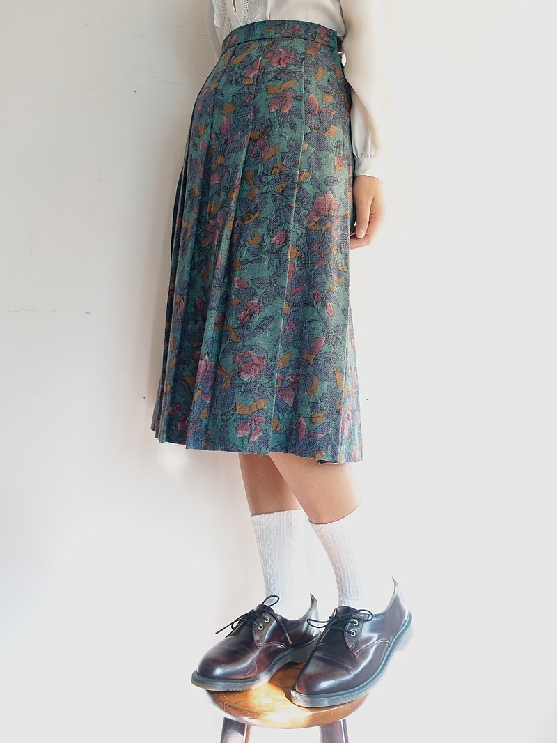 Awhile | Vintage wool skirt no.257