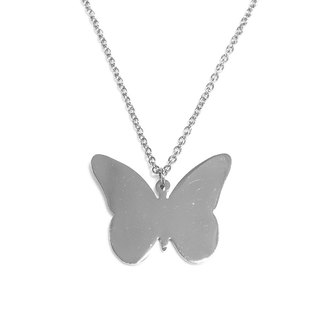 Abstract butterfly pendant