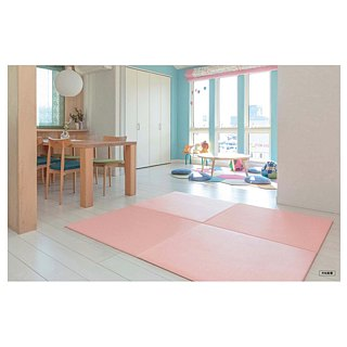 ♥ Japan and the United States grass tatami MIGUSA TATAMI ♥ Baby Series - Peach