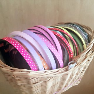 Product - Pure / Printed Hairband, with Hair Accessories
