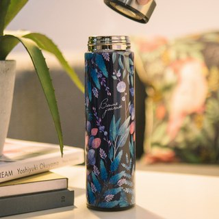 [Pre-order 12/10 shipment] Life accompanying thermos bottle - Blues fern wake up